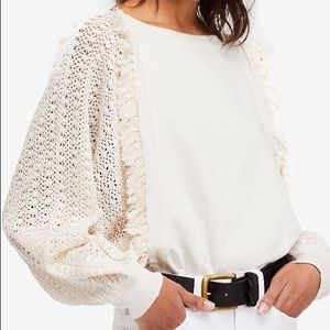 Free People Cotton Pullover